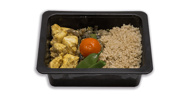 Mini menú de quinoa amb pit de pollastre saludable cousalut